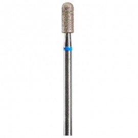 Diamond Bit For Russian Manicure  Cylinder ( Blue)