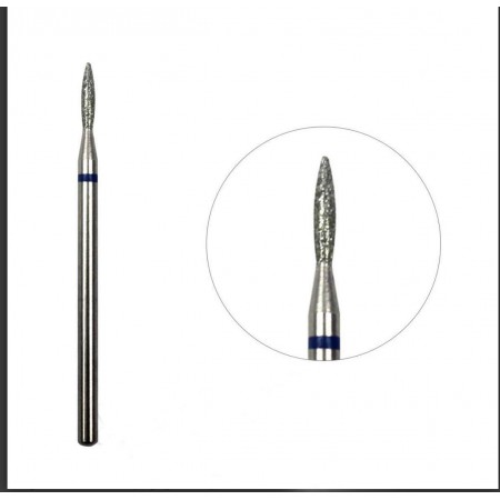 Diamond Bit Flame Russian and Combi manicure (Blue)