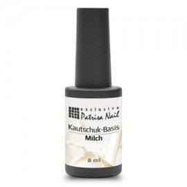 Rubber milk base for gel polish, 8 ml