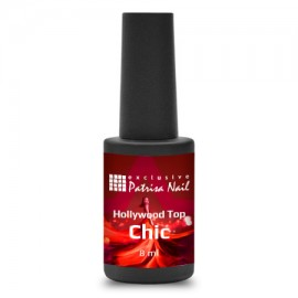 Hollywood-Top top coat without sticky layer Chic, 8 ml