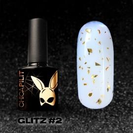 GLITZ #2 Gold Flakes