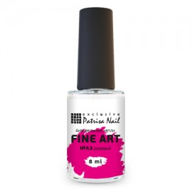 FINE ART Watercolor nail polish №A3 pink, 8 ml