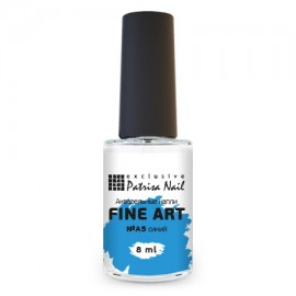 FINE ART Watercolor nail polish №A5 blue, 8 ml