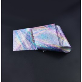 Nail casting foils №51 tail mermaids holography