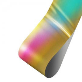 Nail casting foils №25 Gold holography