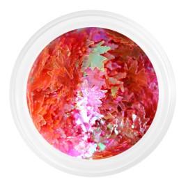 Kamifubuki rainbow maple leaves №K80 (pink mix)