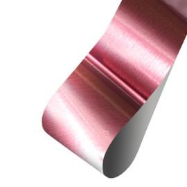 Nail casting foils №43 Pink gloss