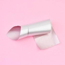 Nail casting foils №62 matte silver