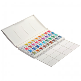 WHITE NIGHTS PROFESSIONAL Watercolours Paint Set Palette 36 X 2,5ml
