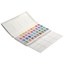 WHITE NIGHTS PROFESSIONAL Watercolours Paint Set Palette 36 X 2,5ml