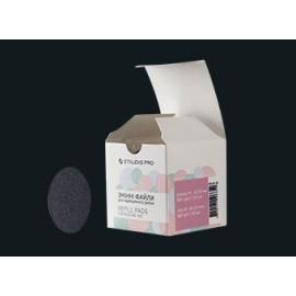 Refill pads for pedicure disc STALEKS PRO S 180 grit (50 pc)